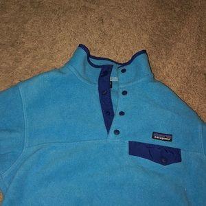 patagonia synchilla, pullover sweatshirt